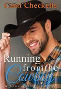 Running from the Cowboy: Spring in Snow Valley Romance