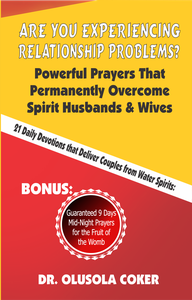 Are You Experiencing Relationship Problems?   Powerful Prayers That Permanently Overcome Spirit Husbands and Wives. 21 Daily Devotions That Deliver Couples from Water Spirits: Guaranteed 9 Days Mid-Night Prayers for the Fruit of the Womb.
