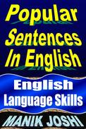 Popular Sentences in English: English Language Skills
