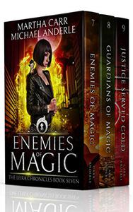The Leira Chronicles Boxed Set Three (Books 7-9): (Enemies of Magic, Guardians of Magic, Justice Served Cold)