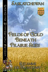 Fields of Gold Beneath Prairie Skies