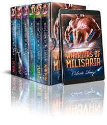 Warriors of Milisaria: A Sci-Fi Alien Abduction Romance Collection