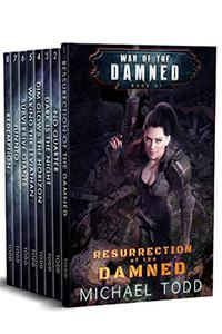 War of the Damned Boxed Set (Books 1-8), A Supernatural Action Adventure Opera: Resurrection of the Damned, No Quarter, Dark is The Night, Dim Glows The Horizon, Waking the Leviathan...