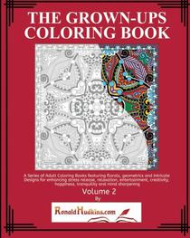 The Grown-Ups Coloring Book Volume 2