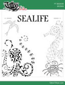 SEALIFE - Design Book: Polynesian style designs for tattoo artists