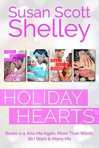Holiday Hearts: Books 1-4
