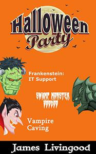 Halloween Party Book Set: Three Classic Monsters with a Twist