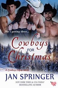 Cowboys for Christmas: A Romance Menage Western Contemporary