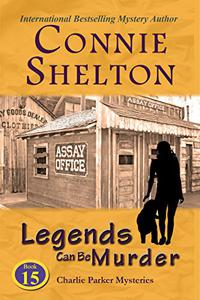 Legends Can Be Murder: A Girl and Her Dog Cozy Mystery