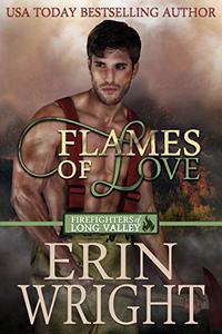 Flames of Love: A Western Firefighter Romance Novel