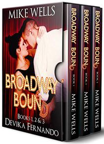 Broadway Bound, Books 1, 2 & 3: An Inspirational Romance Set in the Musical Theater