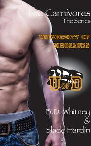 The Carnivores - University of Dinosaurs - Complete Set of 4 Gay Dinosaur Erotica Stories