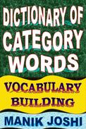 Dictionary of Category Words: Vocabulary Building
