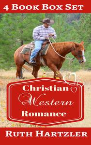 Christian Western Romance: Four Book Box Set