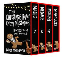 The Christmas River Cozy Mysteries Box Set: Books 7-9
