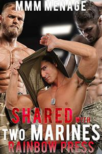 Shared with Two Marines: First Time Gay MMM Menage