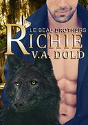 RICHIE: New Orleans Wolf Shifters with plus sized BBW mates
