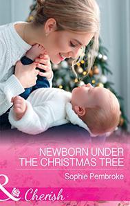 Newborn Under The Christmas Tree