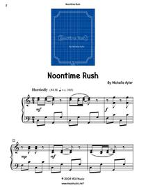 Noontime Rush