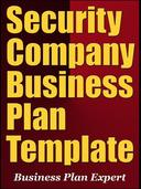 Security Company Business Plan Template (Including 6 Special Bonuses)