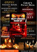 Gray's Complete Pocket Book Series (Books 1-5: Curses, Love, Money, Luck, and Protection)