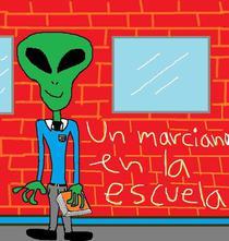 Un marciano en la escuela