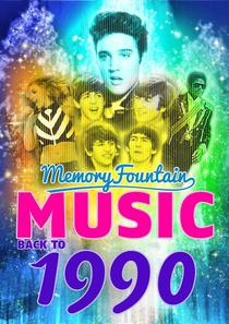 1990 MemoryFountain Music: Relive Your 1990 Memories Through Music Trivia Game Book Hold On, It Must Have Been Love, Nothing Compares 2 U, and More!