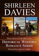 MacLarens of Fire Mountain Boxed Set Books 1 - 3 Historical Western Romance Series