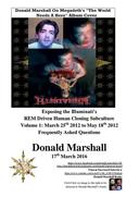 Exposing the Illuminati's R.E.M Driven Human Cloning Subculture, Frequently Asked Questions