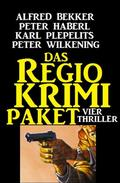 Das Regio-Krimi Paket: Vier Thriller
