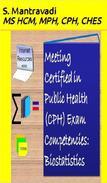 Meeting Certified in Public Health (CPH) Exam Competencies: Biostatistics