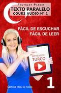 Aprender turco | Fácil de leer | Fácil de escuchar | Texto paralelo CURSO EN AUDIO n.º 1