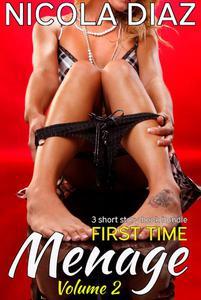 First Time Menage Volume 2- 3 short story book bundle