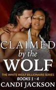 Claimed by the Wolf, Books 1-4
