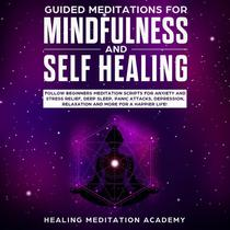Guided Meditations for Mindfulness and Self Healing: Follow Beginners Meditation Scripts for Anxiety and Stress Relief, Deep Sleep, Panic Attacks, Depression, Relaxation and More for a Happier Life!