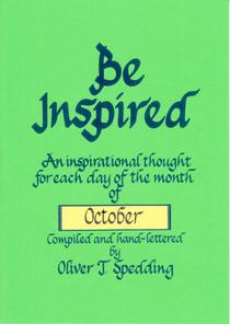 Be Inspired - October