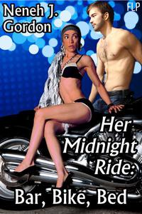 Her Midnight Ride: Bar, Bike, Bed (BWWM erotic romance)