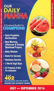Our Daily Manna July To September 2016 edition