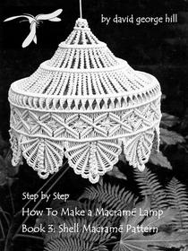 "Macramé Lamp: ""Shell"" Pattern"