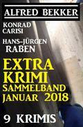 Krimi Extra Sammelband Januar 2018: 9 Krimis