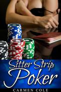 Sitter Strip Poker (Menage / Babysitter / DP)