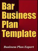 Bar Business Plan Template (Including 6 Special Bonuses)
