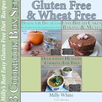 Gluten Free & Wheat Free Milly's Best Easy Gluten Free Diet Recipes 3 Cookbook Box Set