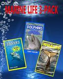 Marine Life 3-Pack: Amazing Pictures & Fun Facts on Animals in Nature