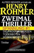 Zweimal Thriller Spannung #1