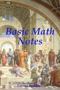Basic Math Notes