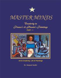 Master Minds: Creativity in Picasso's & Husain's Paintings. (Part 1)