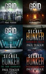 The Grid Trilogy/The Secret Bunker Trilogy: [Sci-Fi/Dystopian 6-Pack]