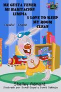 Me gusta tener mi habitación limpia I Love to Keep My Room Clean