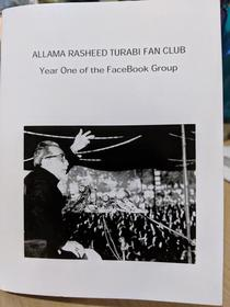 Allama Rasheed Turabi Fan Club - Year One